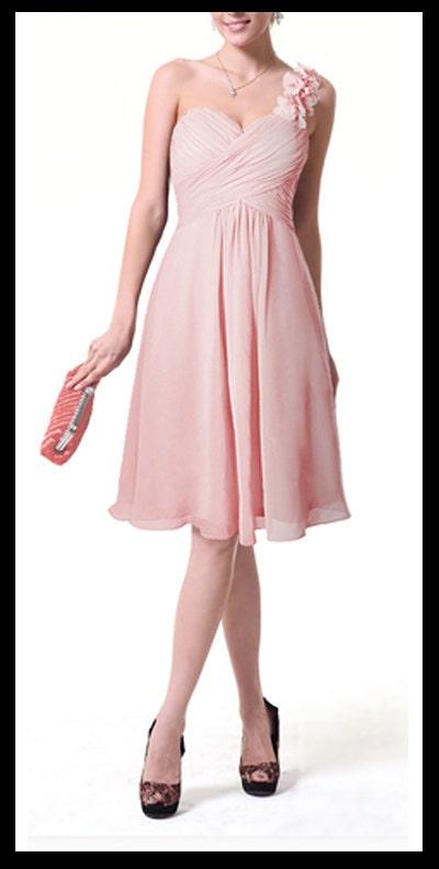 Blush Pink Plus Size Bridesmaid Dresses : Items similar to blush pink bridesmaid dress chiffon