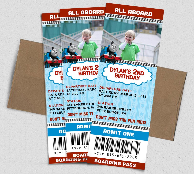 94+ Train Boarding Pass Template - Boarding Pass Ticket Invitation ...