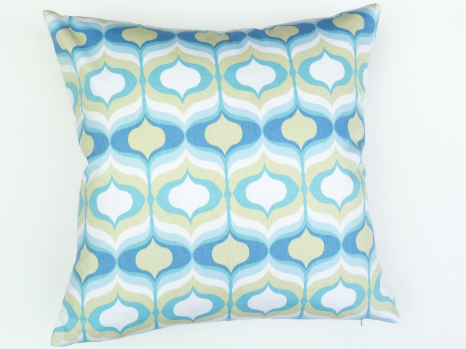 True Modern Pillows : Mid Century Modern style Accent Pillow 17 x 17 by MaiaModern
