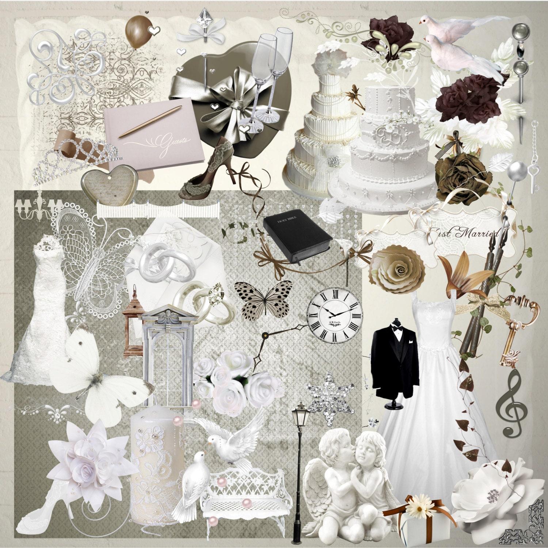 Wedding Scrapbook Kit