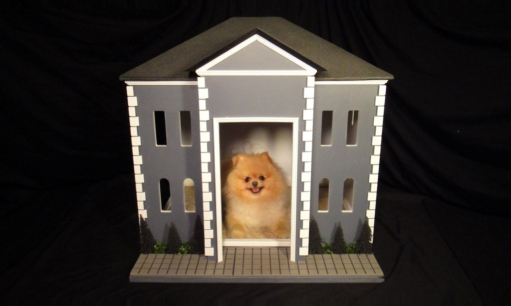 Items similar to indoor dog house or unique crate cover the federal by simba 39 s castles on etsy - Unique indoor dog houses ...