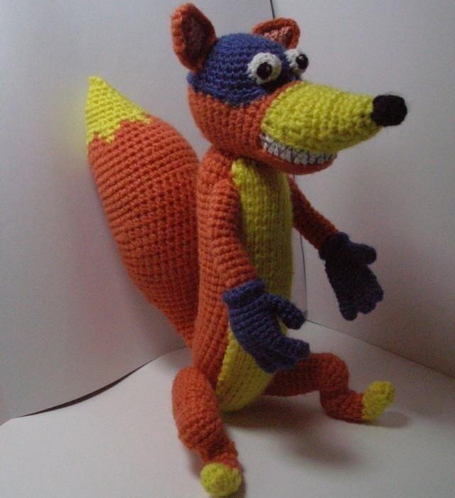 Amigurumi Daffy Duck : Fox Swiper pdf Amigurumi Crochet Pattern by mashutkalu on Etsy