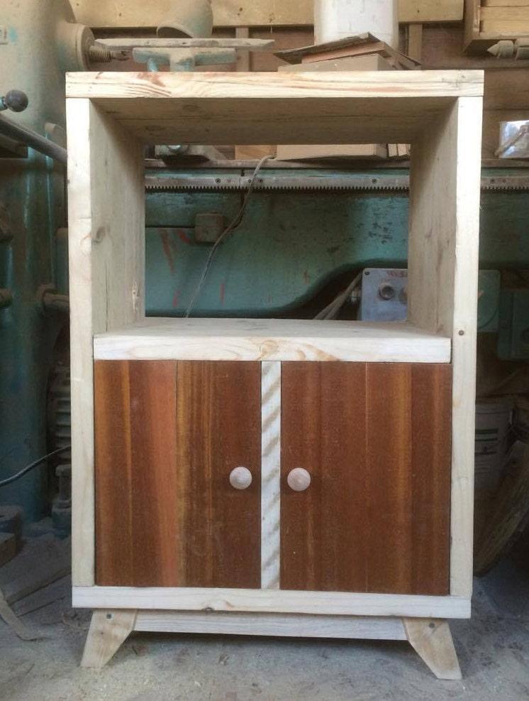 Rustic Record Player Unit Record storage cupboard Vinyl storage unit Dining room cupboard