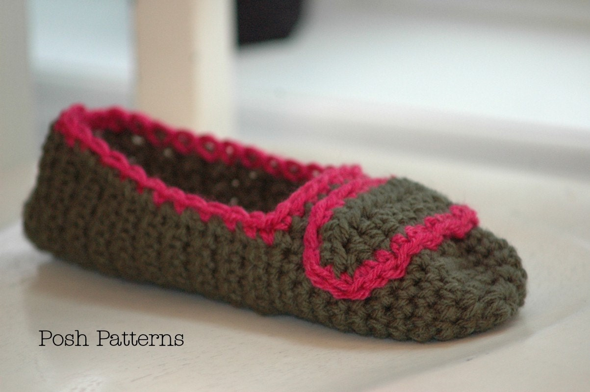 Crochet Easy Slipper Pattern : 301 Moved Permanently