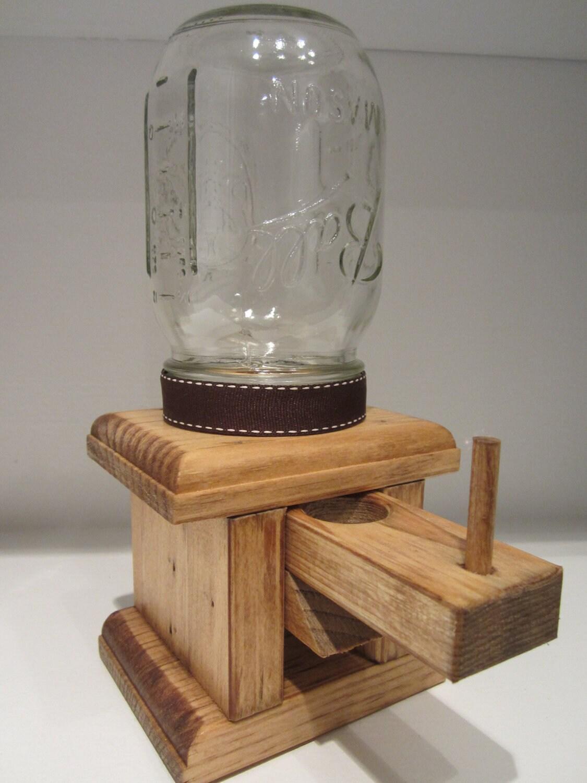 Mason Jar Candy Dispenser Plans