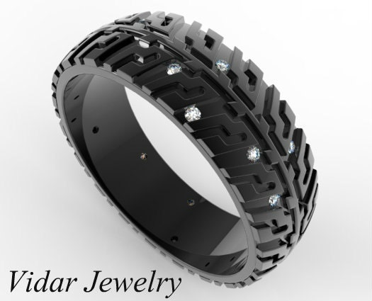 Popular Items For Tire Tread Ring On Etsy