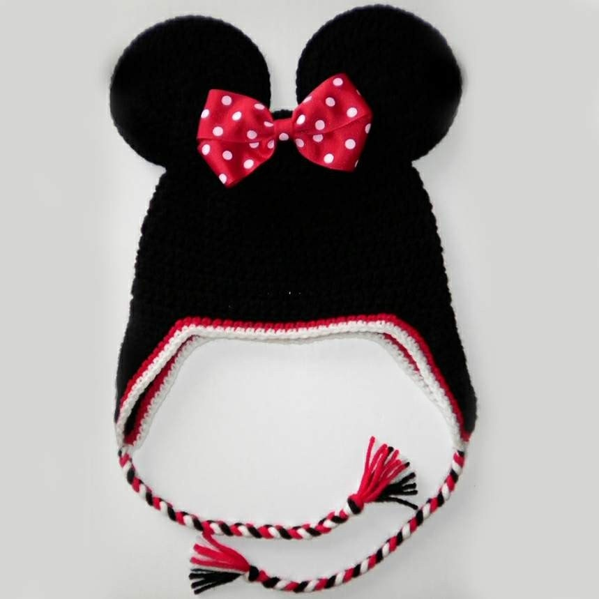 Free Minnie Mouse Crochet Hat Pattern With Ear Flaps : 301 Moved Permanently