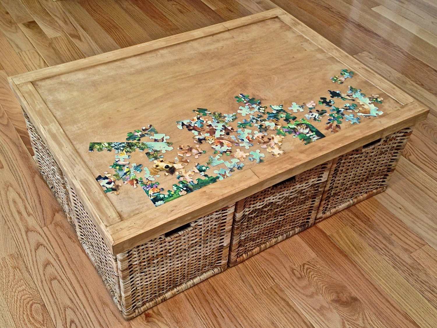 Items Similar To Puzzle Table Insert For Coffee Tables On Etsy