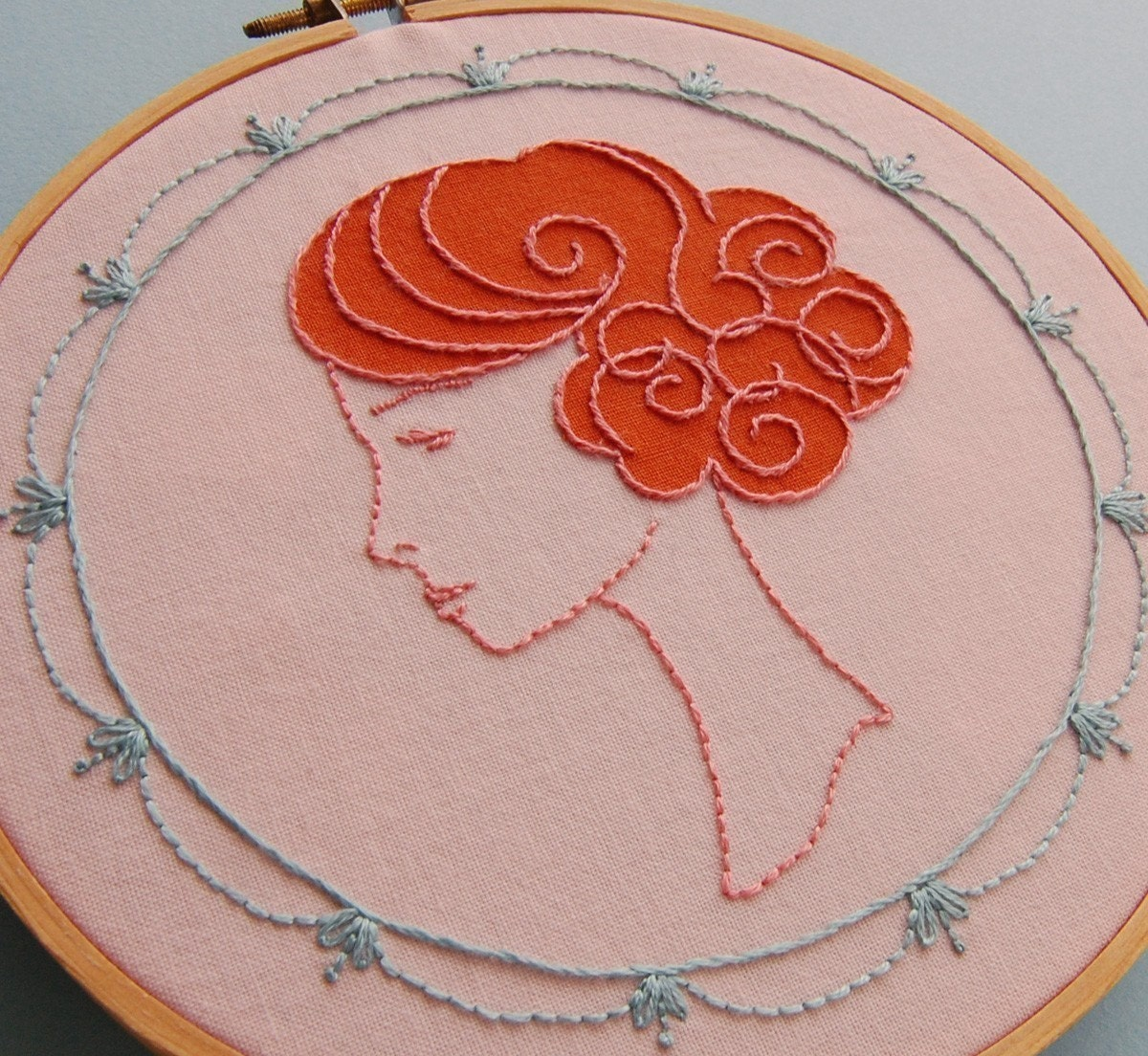 Embroidery Patterns, WIG WONDERFUL Hand Embroidery Patterns - SeptemberHouse