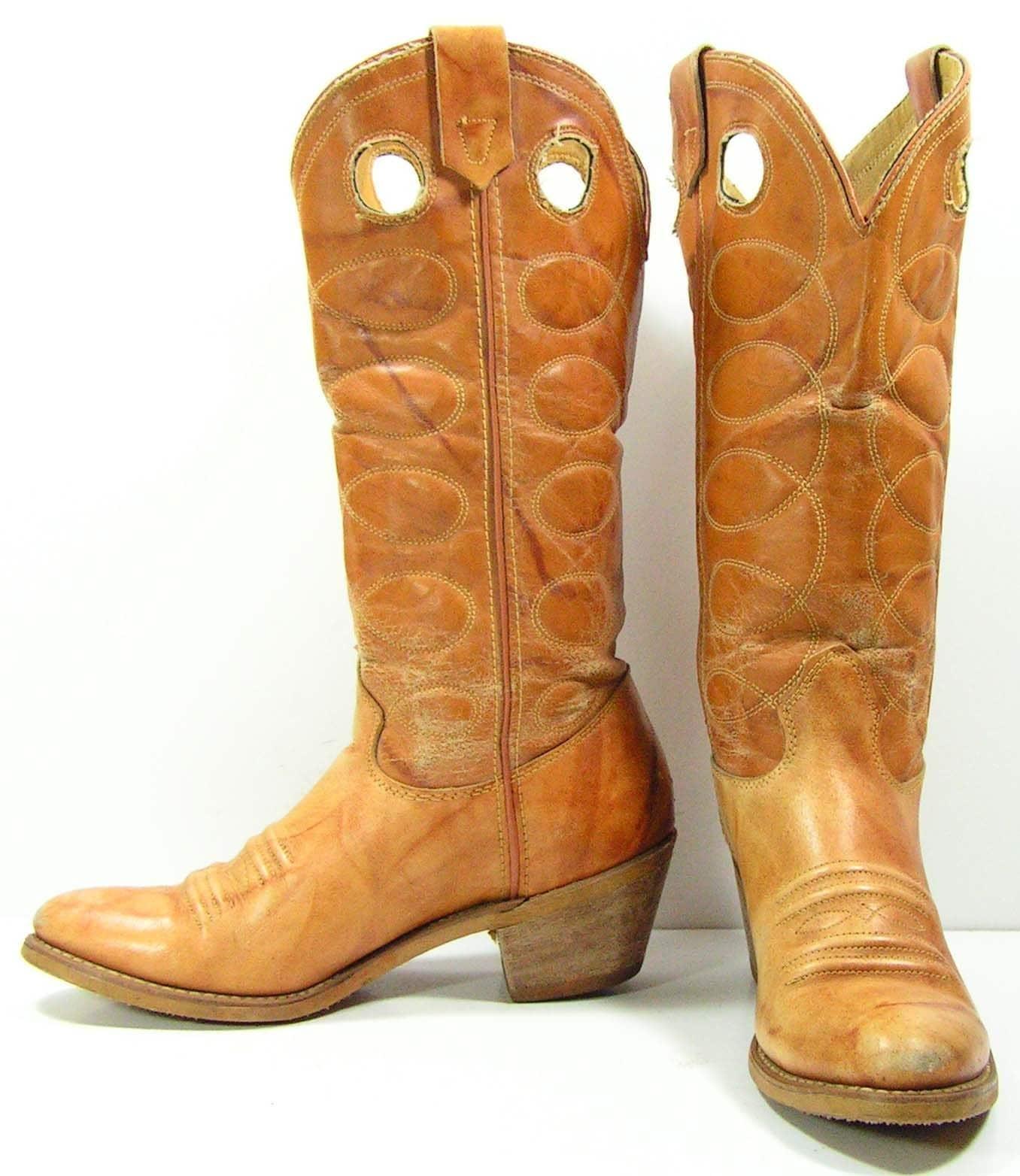 Creative Gameday Boots Womenu0026#39;s 10u0026quot; Short Black Leather Texas Au0026M Cowboy Boots Size 8 - Walmart.com
