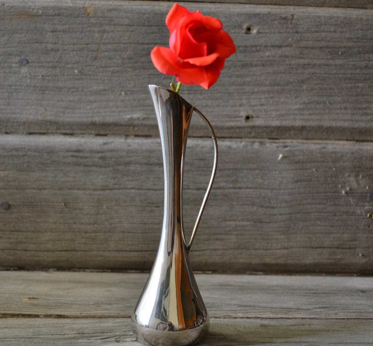 Beautiful Vintage Silver Plated Bud Vase By BitsofthePast