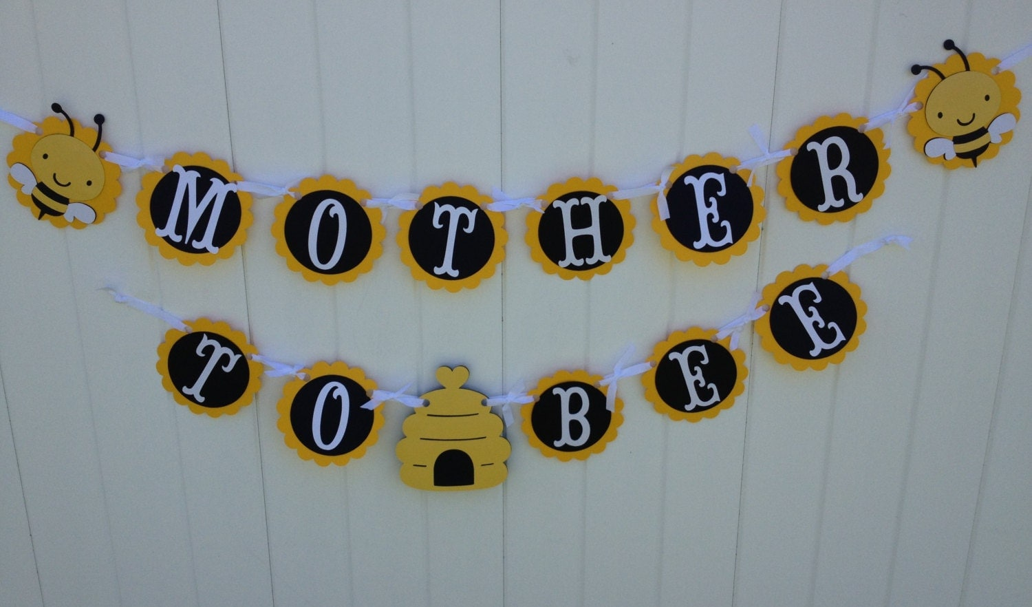 Bumble Bee Onesie Baby Shower Banner Yellow And Gray By 570x391 Mother