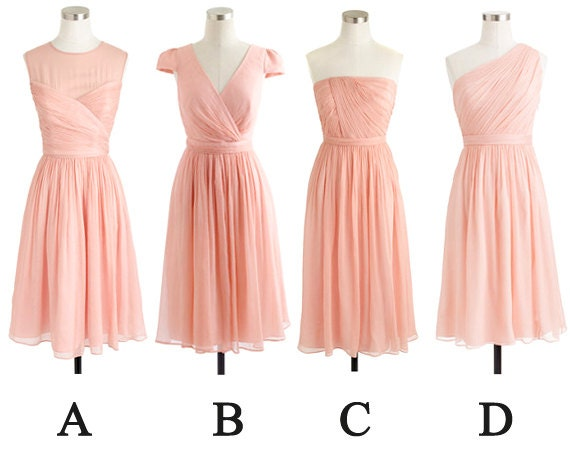 Etsy your place to buy and sell all things handmade for Short blush pink wedding dresses