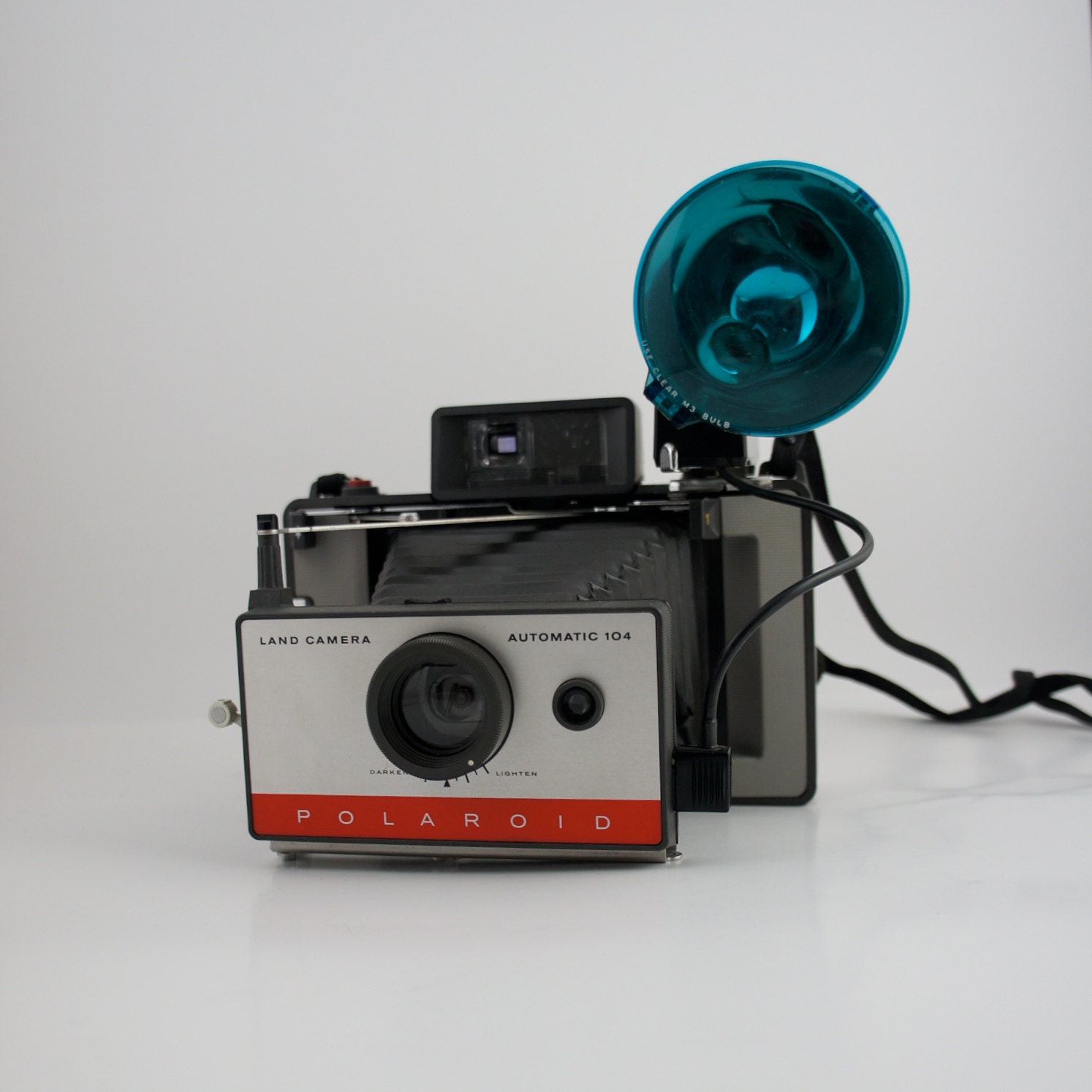 Model Land Movie: Polaroid 104 Automatic Land Camera With Model 268 By