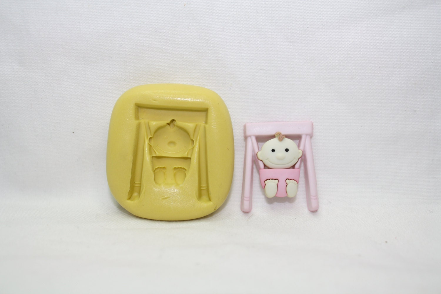 Baby bouncing chair silicone mold by Creandoparati on Etsy