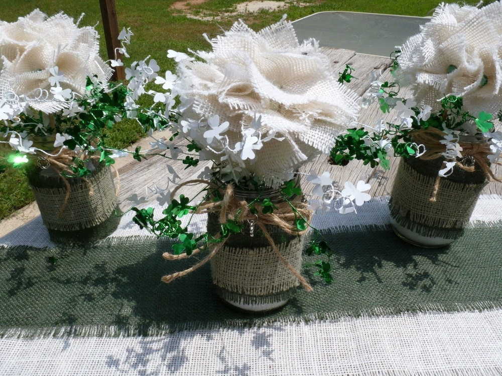 CELTIC WEDDING CENTERPIECES RuSTiC MaSoN BaLL By TheCelticHeart