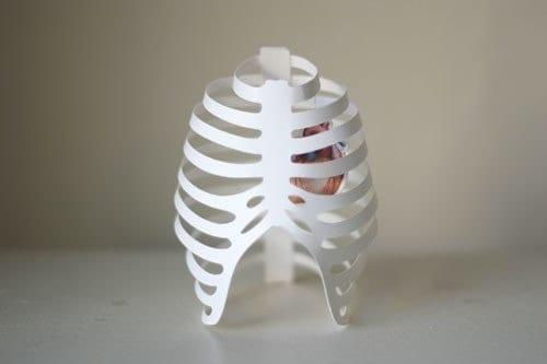 Как сделать скелета из бумаги своими руками схемы