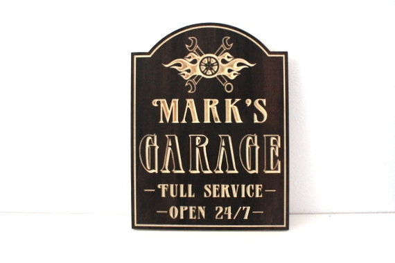 Garage Signs For Men : Unavailable listing on etsy