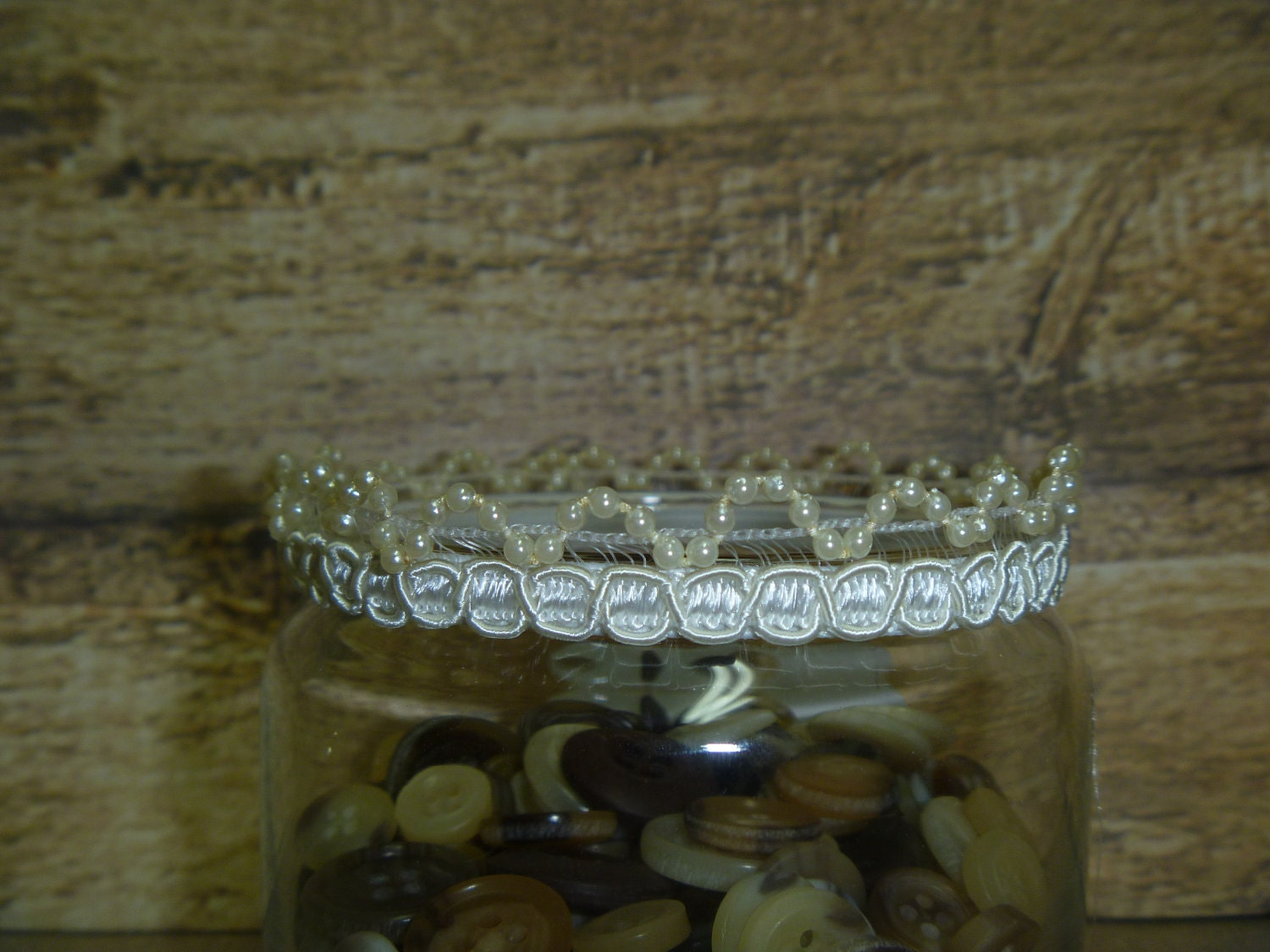 Newborn Ivory Crown