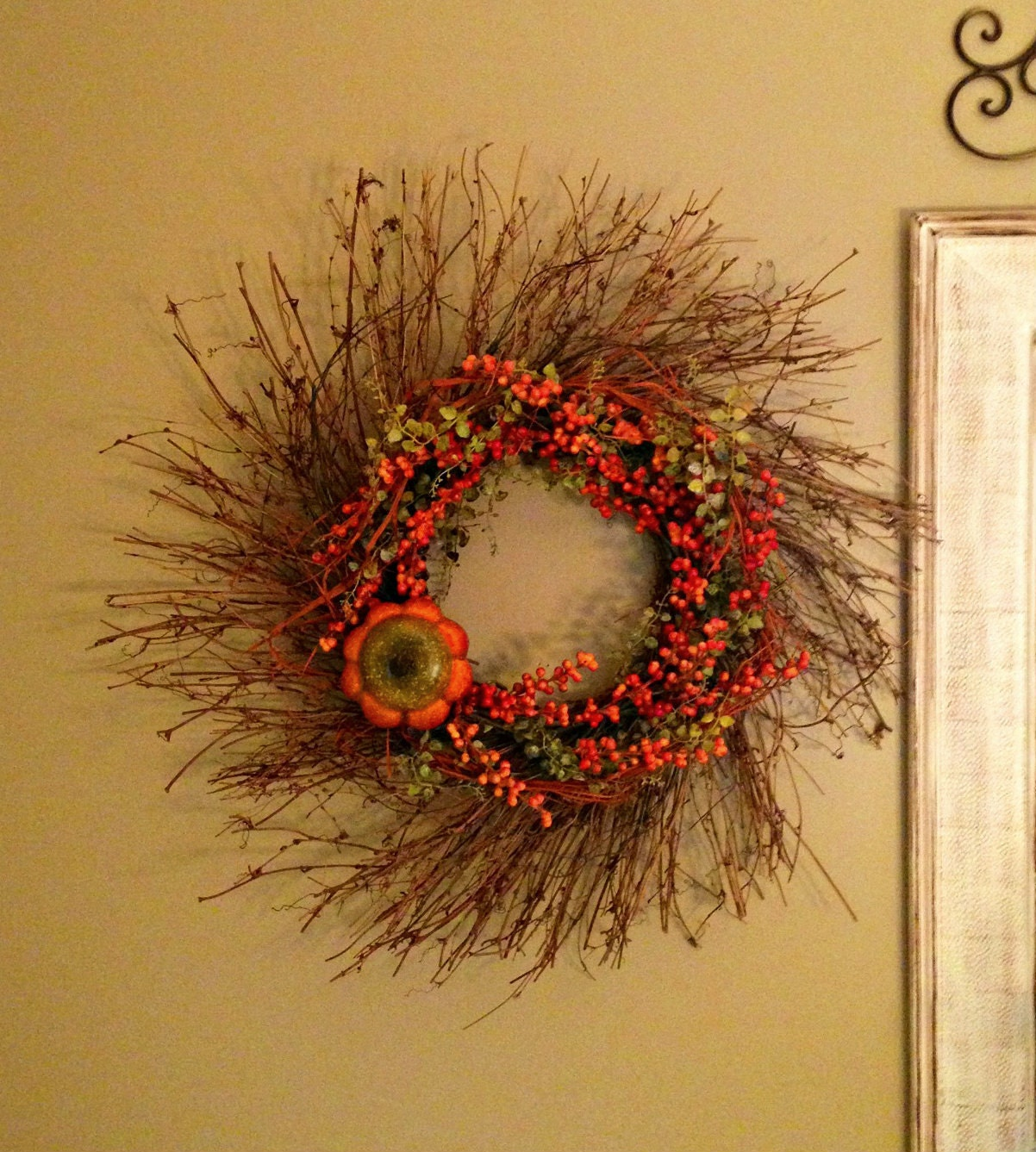 Twig home decor 28 images winter door wreath rustic for Twig decorations home