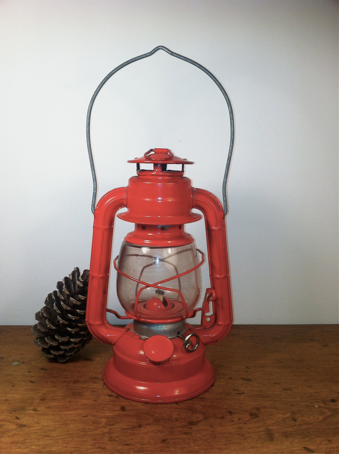 Dietz Barn Lantern Kerosene 50 Fire Engine Red By Oneeyeblue