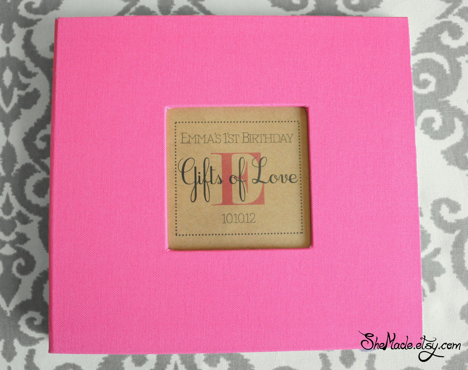 Gift Log book, perfect for bridal showers, weddings, baby showers ...
