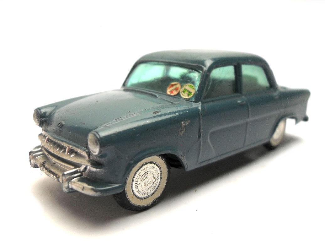 1950s Vintage Corgi 352 Standard Vanguard RAF Staff Car Toy Collectible England