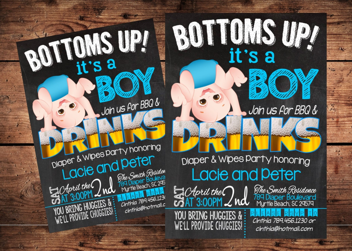 Bottoms up party