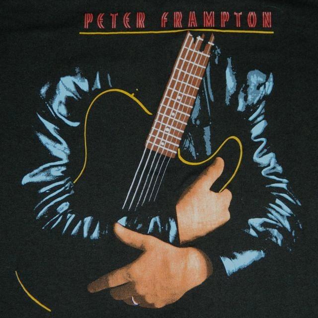 1986 PETER FRAMPTON TOUR Shirt Original - STORMCROWVINTAGE