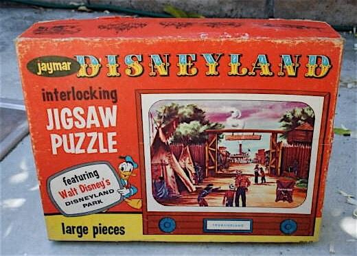 1950s Disneyland Puzzle