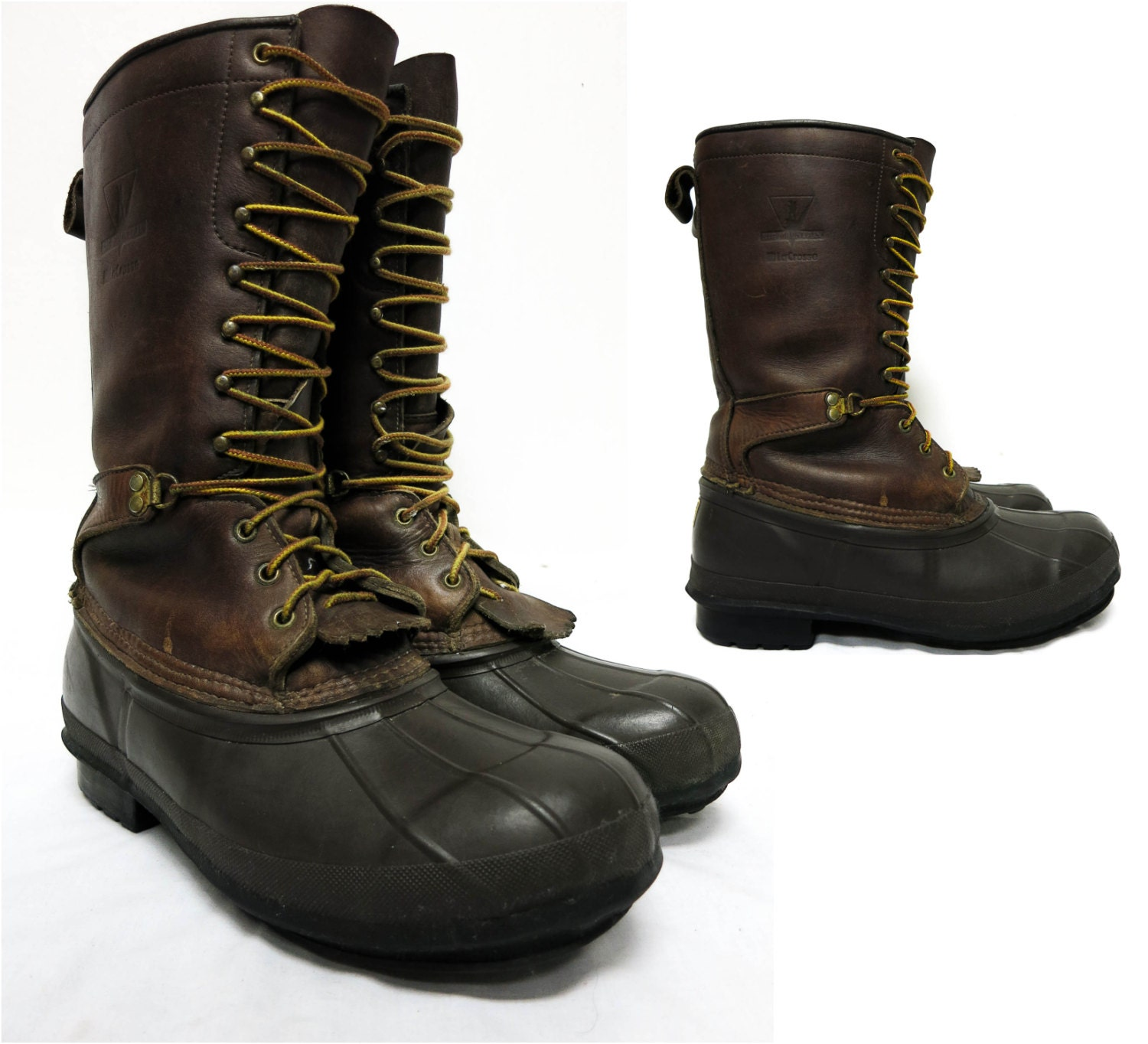 Mens Tall Lacrosse Big Mountain Boots Size 11 By