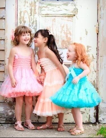 لباس Pettiskirt توسط Dreamspun - Flowergirl تولد و
