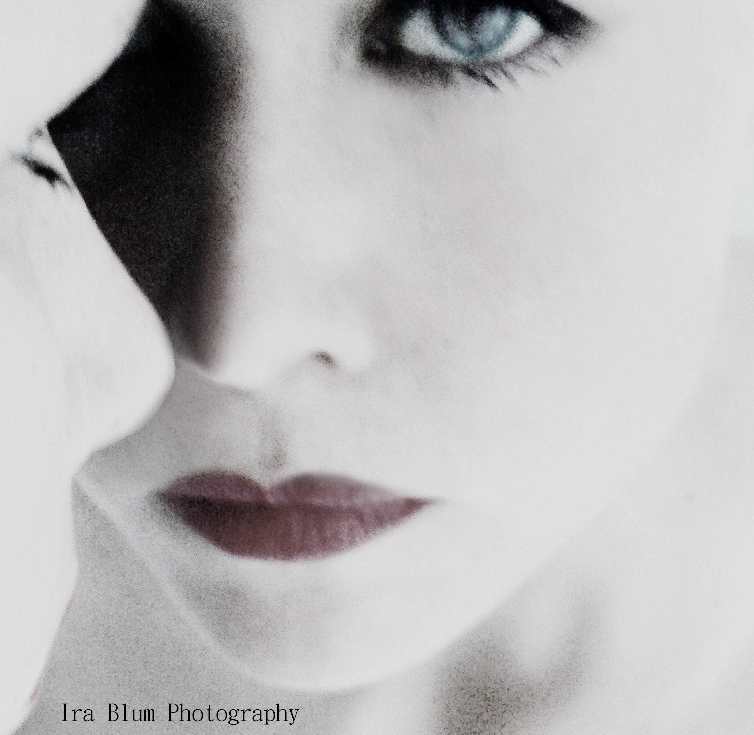 Woman Portrait Photograph // Fine Art Photography // White Winter Dream