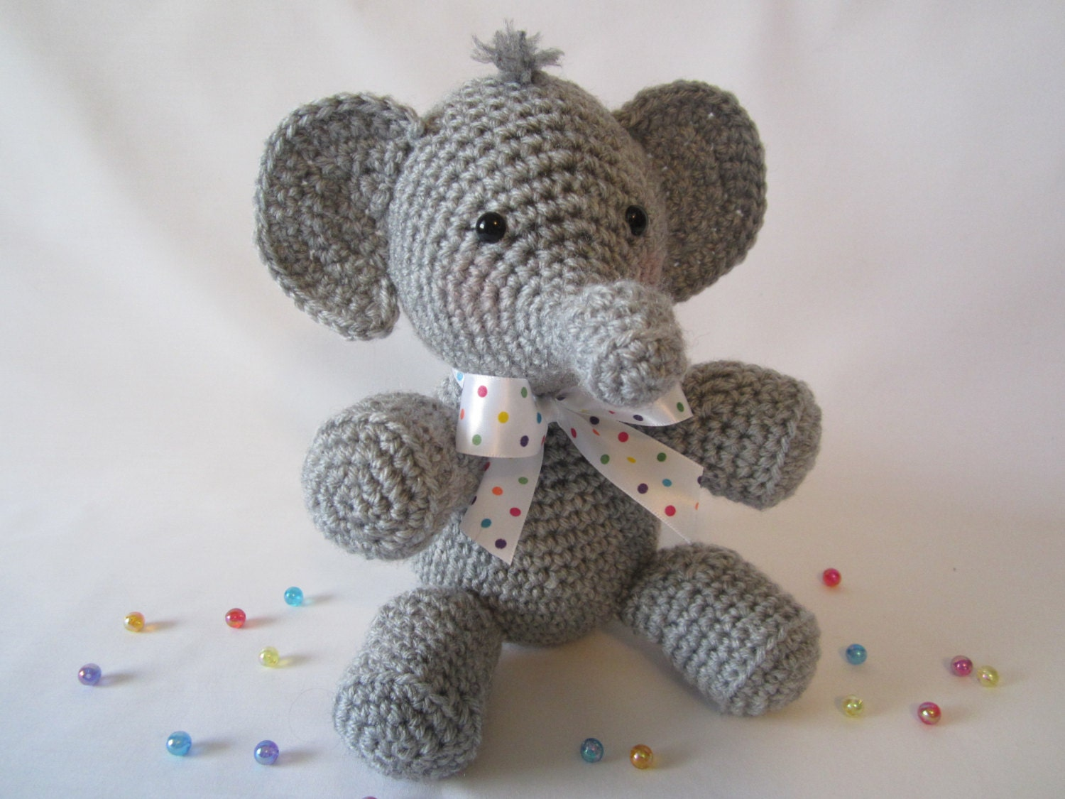 Crochet Elephant : Crochet Elephant Stuffed Elephant Stuffed Animal by CROriginals