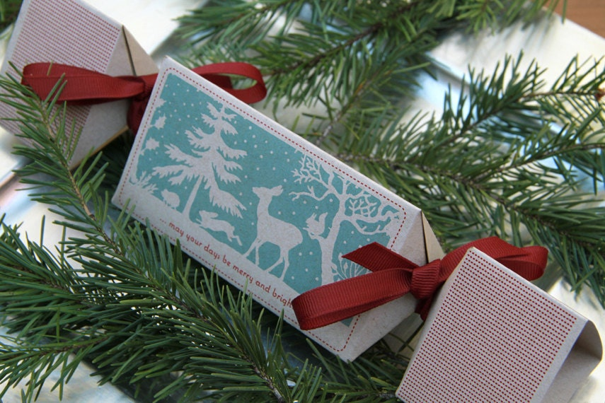 Christmas Party Crackers - Woodland Winter - PIMLOTTco