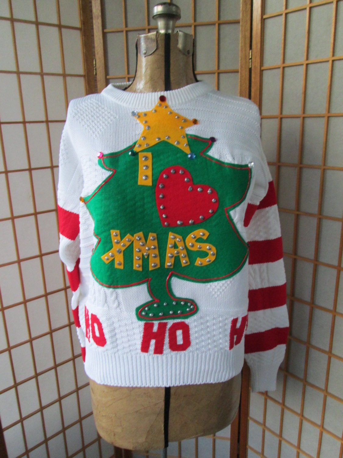 Grinch ugly christmas sweater mens womens unisex sweater