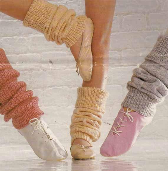 1970s/80s VINTAGE KNITTING PATTERN Legwarmers by GrannyTakesATrip