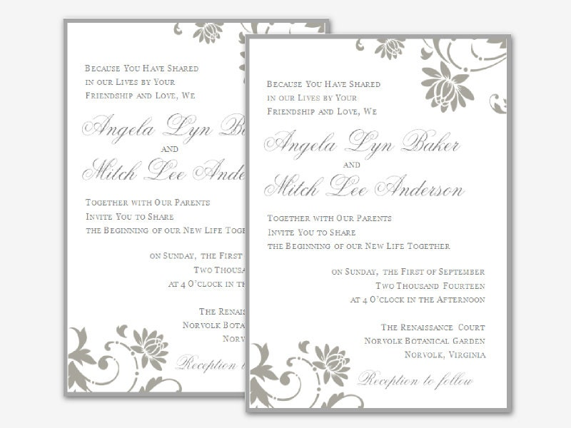 wedding invitation templates microsoft word – How to Make a Birthday Invitation on Microsoft Word