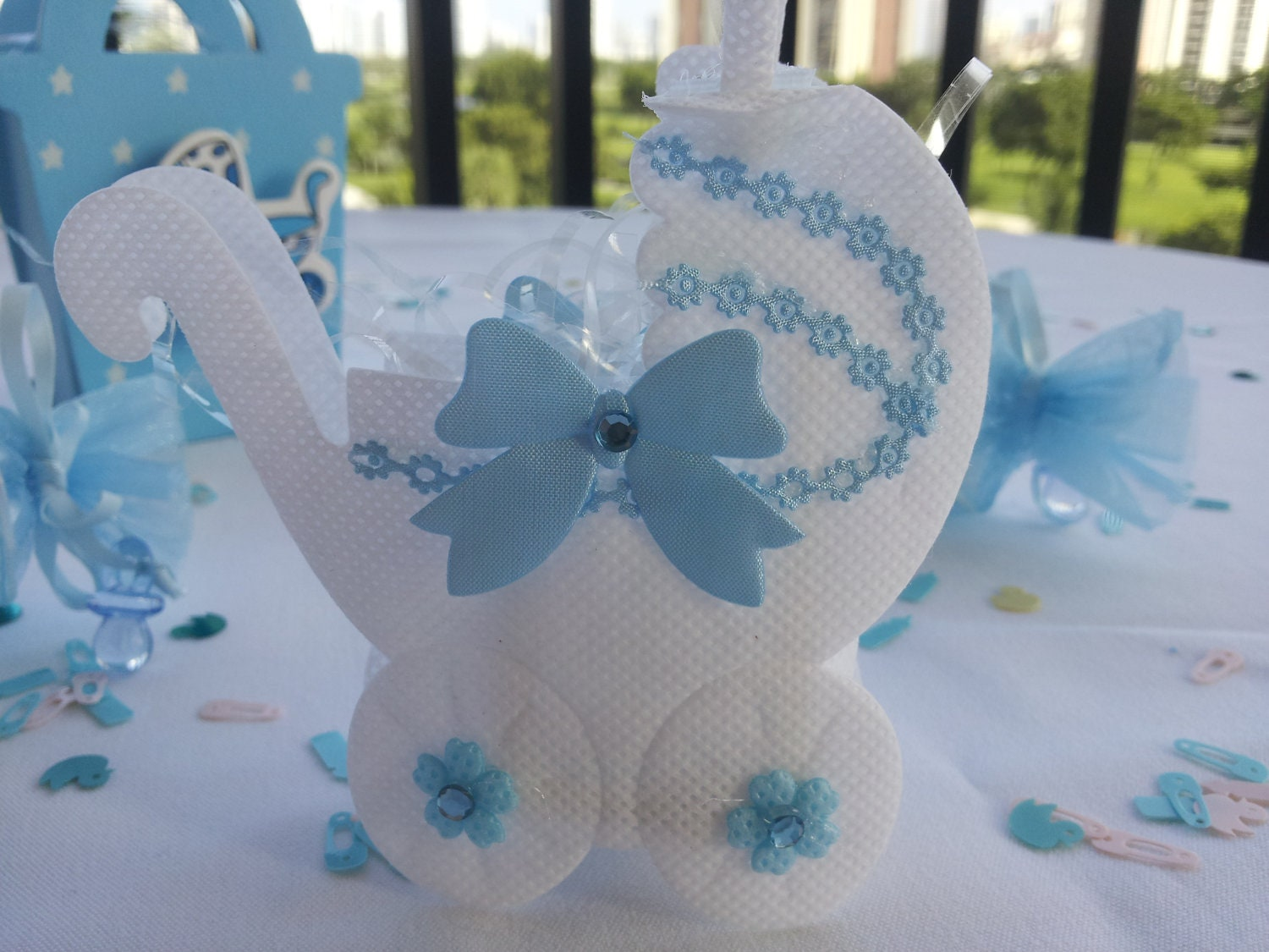 Baby Shower Favors Outlet ~ Clearance baby shower goodie bag by foreversweetfavors