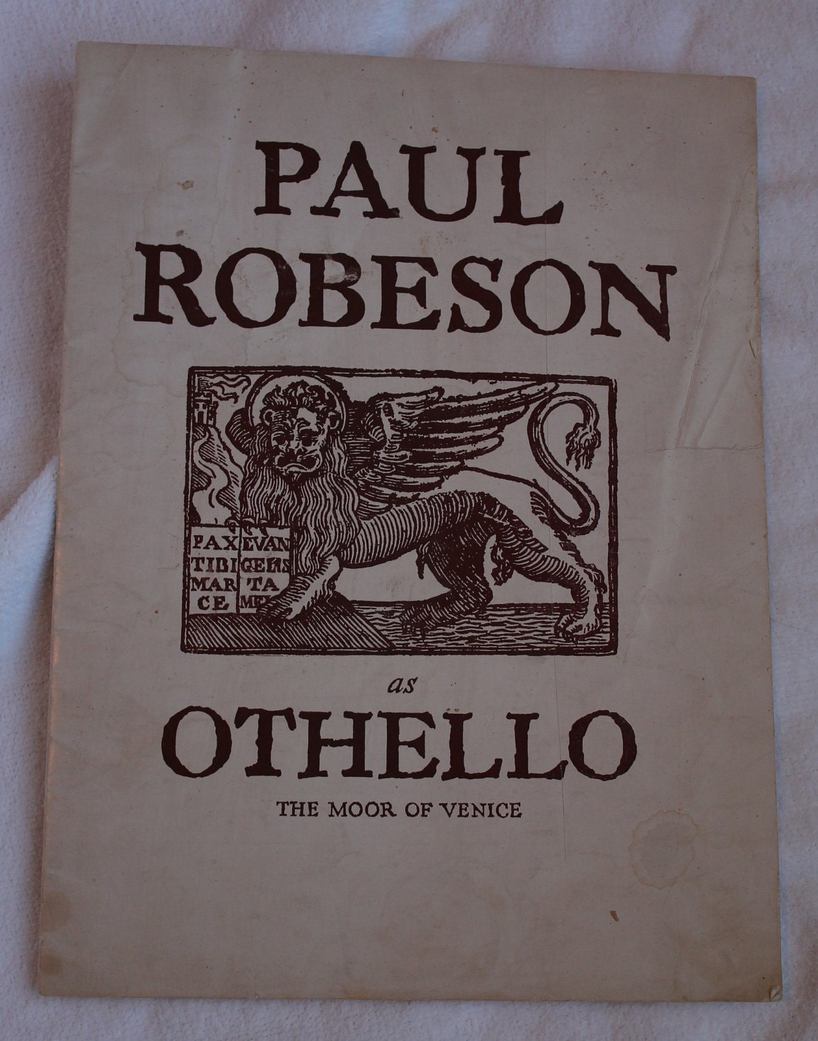 essays on paul robeson
