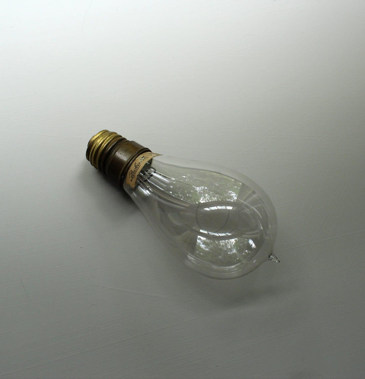 Original Packard Light Bulb Early Electric Light By Theorangehorse