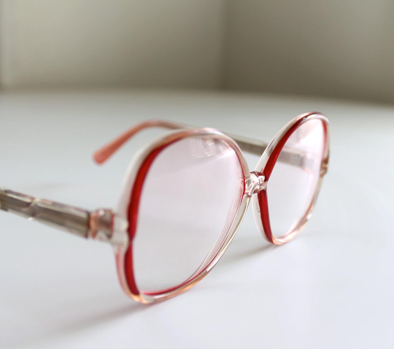 Vintage 70s Tura Eyeglass Frames Womens Rose by ...