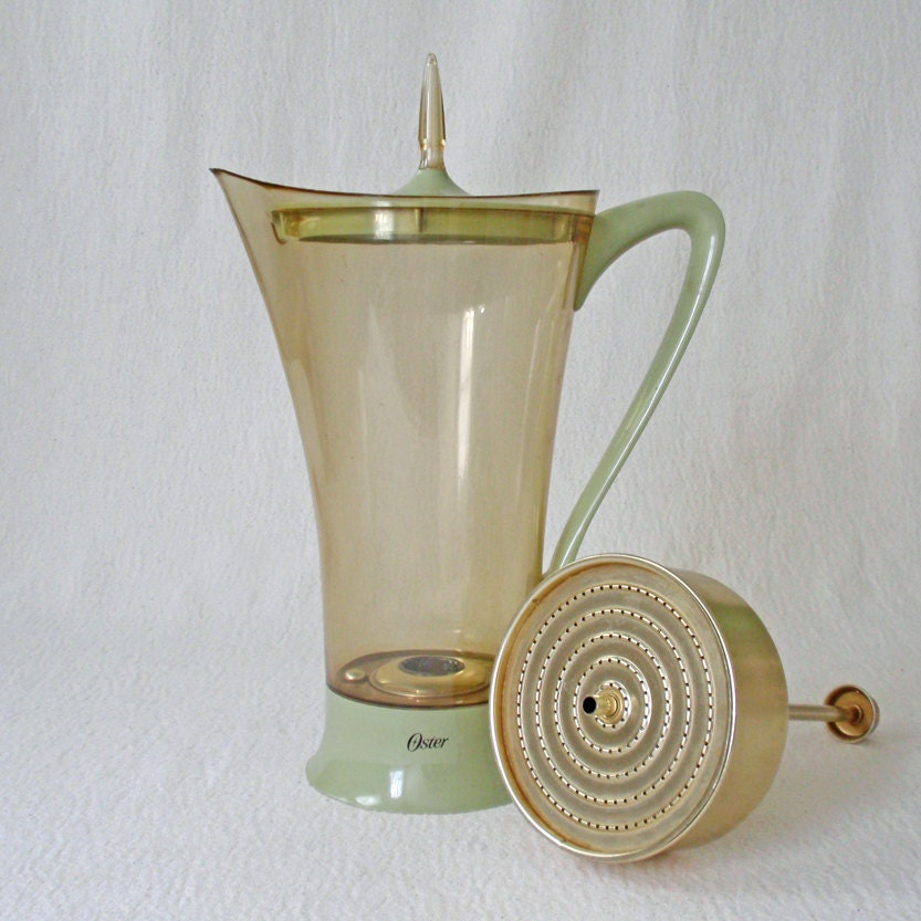Oster Coffee Maker Cleaning Light Is On : Vintage Oster Electric Percolator Coffee Pot by RattyAndCatty