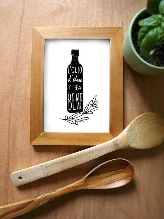Italian kitchen art for Italian kitchen prints