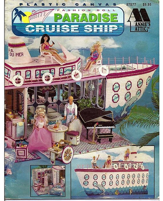 Fashion Doll Paradise Cruise Ship Plastic By Grammysyarngarden
