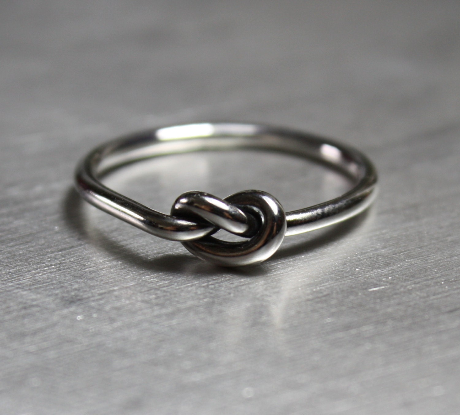 knot ring promise ring best friends ring by jenniferwood