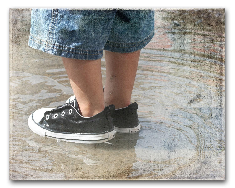 BLUE DENIM & BLACK Keds, Portrait Photography, Boy's, Nursery, Kid's, Children, Fine Art - CountryWithAttitude