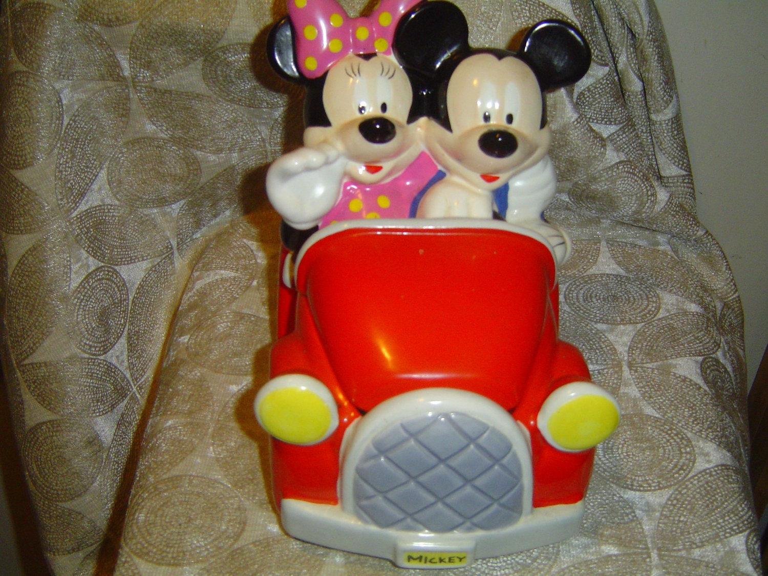 Mickey and Minnie Mouse Cookie Jar