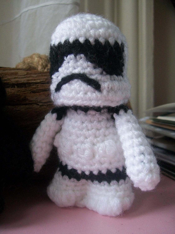 Amigurumi Star Crochet Pattern : Stormtrooper Pattern Star Wars Amigurumi by ...