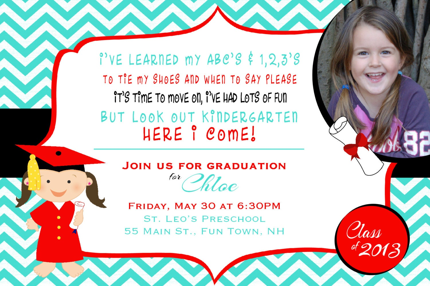Preschool Graduation Invitations is one of our best ideas you might choose for invitation design